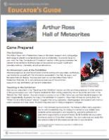 Hall of Meteorites Educators Guide Image