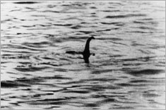 "The famous ""Surgeon's photo"" of the Loch Ness Monster, 1934, believed to be a forgery © Hulton Archive/Getty Images"