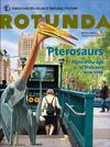 Cover of Rotunda magazine showing a large pterosaur emerging from 23rd Street Station near Madison Square Park.