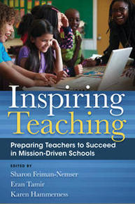 Book cover for Inspiring Teaching Preparing teachers to succeed in Mission-driven schools.