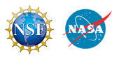 NSF and NASA logo