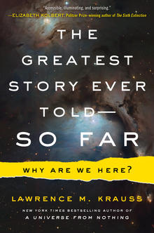 Book Cover of Lawrence Krauss's The Greatest Story Ever Told So Far