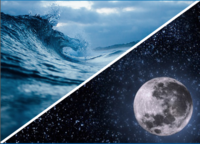 Wave VS Moon