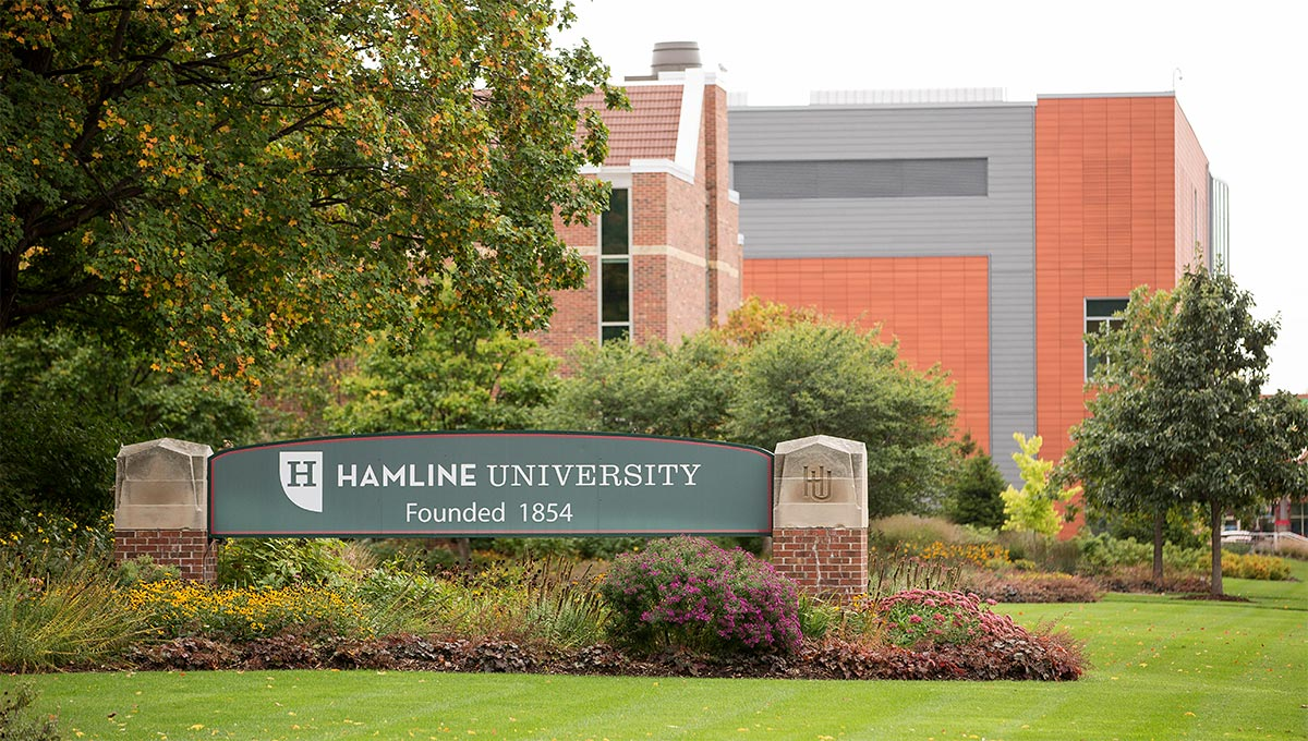 Photo of the Hamline University campus