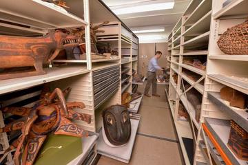 Collections Storage at AMNH.