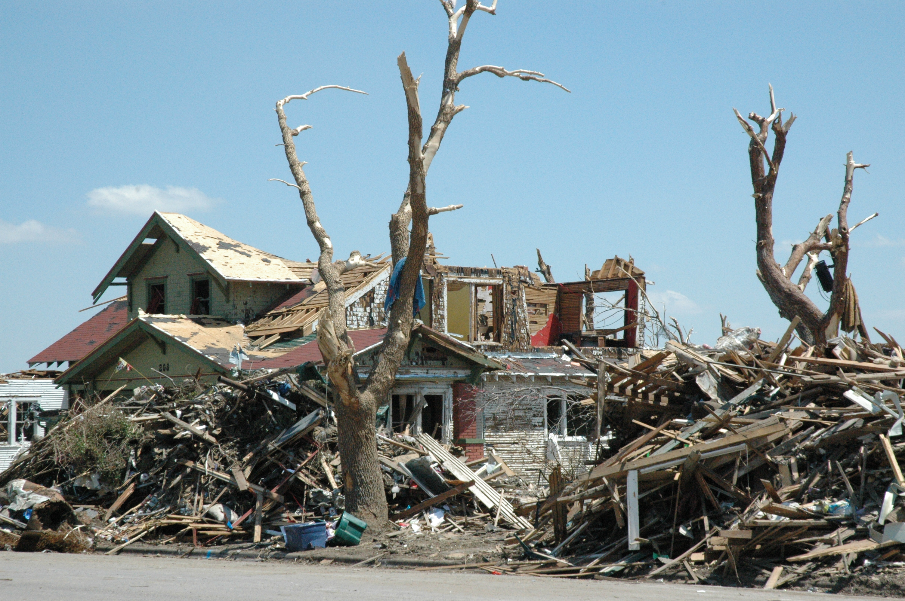Homes Destroyed Natural Disasters Tornado