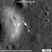 Chang'e 3 Lander on Moon