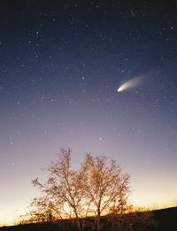 Photo of Comet Hale-Bopp, March 1997. Credit: Philipp Salzgeber