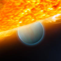 Extrasolar Planet HD 189733b (Art)