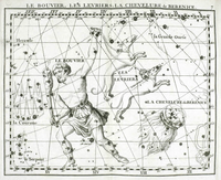 Chart from Flamsteed's Atlas showing Bootes