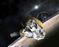 New Horizons encounter with Pluto