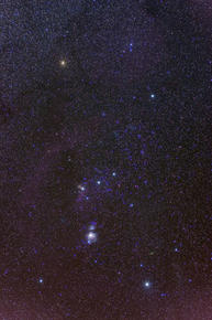 Orion Constellation Sky Photo