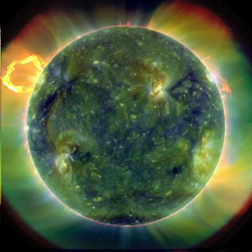 Sun UV Multiwavelength