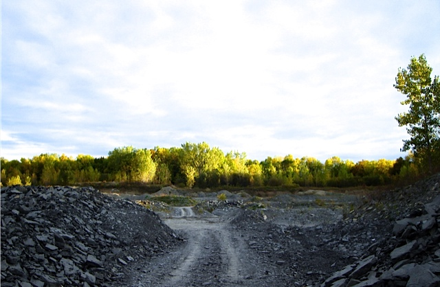 Caleb's Quarry, Middleport, New York