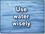 Use-water-wisely