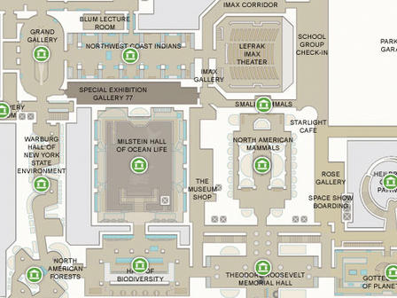 Interactive Floor Plan - Interactive us history map