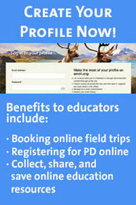 Link tout for Educators to create their own online profile