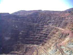 Open pit mining at Bisbee