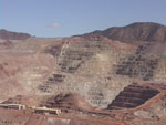 Open pit mining at Morenci.