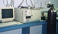 Gas Chromatograph (GC) used at school.