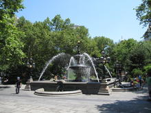 City Hall Park Fountain NYC Wikimedia Commons/Gryffindor