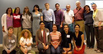 Participants at the NCEP studio in Annapolis, June 2015.
