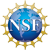 A National Science Foundation logo with initials NSF inside a circle
