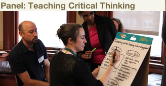 Panel teaching critical thinking