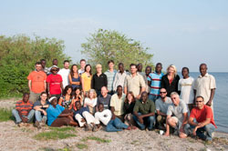 Here is the whole Rusinga team on the last day of field work. Photo courtesy of W. Harcourt-Smith.